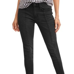 Seven7 women's mid rise ankle skinny jeans